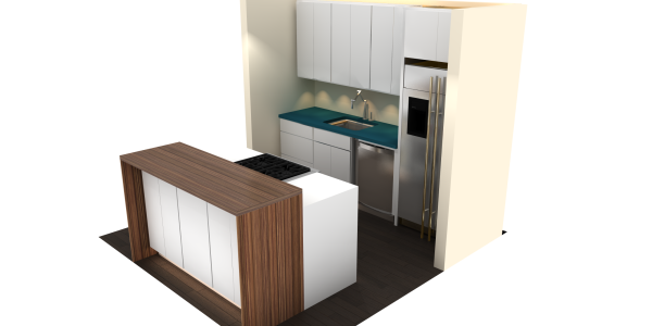 Kitchen Design Renders